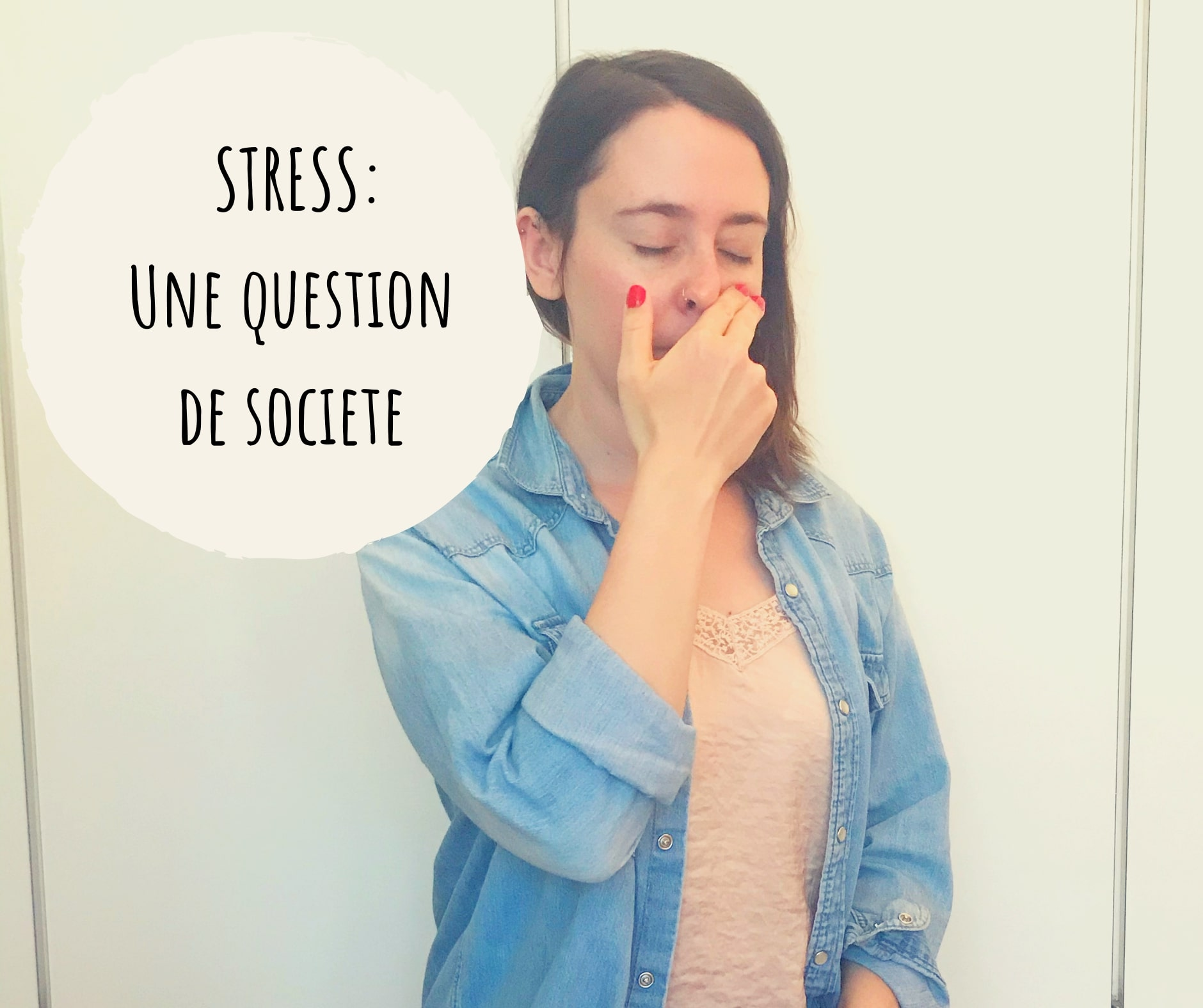 Stress : une question de société